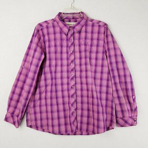Bit & Bridle Pearl Snap Western Button Up Large